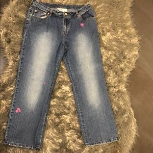 Lilly Pulitzer cropped jeans Size 12